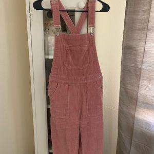 Brandy Melville link corduroy overalls